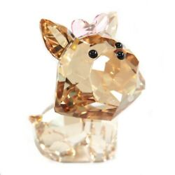 Rare Retired SWAROVSKI Crystal PUPPY DIXIE YORKSHIRE 20142016 Collectable