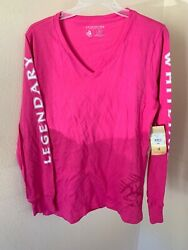 Legendary Whitetails Ladies Non-Typical Long Sleeve Tee pink