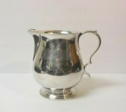 And Co. Sterling Silver Water Pitcher 19873 C. 1947-1956
