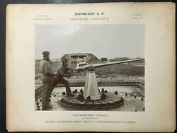 1930s China Buys Canon From French Arms Manufacturer Marketing Photo 民国中国向法国买大炮