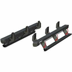 Aries Set of 2 Running Boards New for Jeep Wrangler JK 2018 Pair 3036571