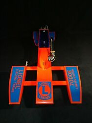 Rare Stunning Lionel Trains Hydroplane Prototype Gas Powered Boat Tether