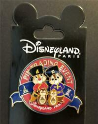 Dlp Disney Christmas Pin-doll Party - Pin Trading Event Chip And Dale Pin 88205
