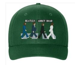 The Beatles Baseball Cap Abbey Road Embroidered Flexfit Stretch Hat