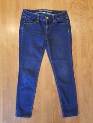 Americsn Eagle Outfitters Jeans Womens Super Stretch Jegging Size 4/27