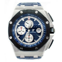 Audemars Piguet Royal Oak Platinum Automatic Blue Watch 26401PO.OO.A018CR.01