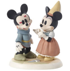 Mickey Mouse Minnie Precious Moments Brave Little Tailor Sew Wonderful Nwob