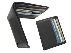 Brown Handcrafted Cowhide Leather Men's Bifold Premium Wallet ID Holder Gift Box $15.90