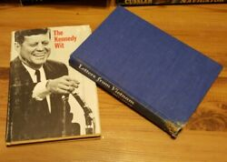 The Kennedy Wit-hardcover-1964-plus Letters From Vietnam-hardcover-bill Adler