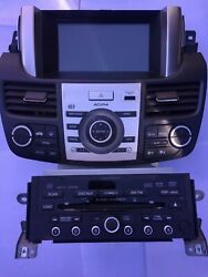 2007-2009 ACURA RDX FACTORY 6 DISC RADIO NAVIGATION AC CLIMATE ASSEMBLY