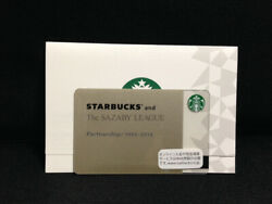 Rare Starbucks Japan Card The Sazaby League Limited Edition Free Shipping