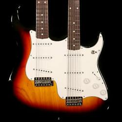 Fender Custom Shop Double Neck Stratocaster and Bass VI MB Dennis Galuszka 3TS