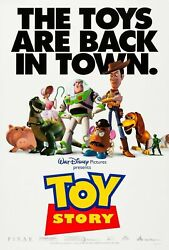 233061 Toy Story 1995 Movie The Toys Are Back In Town Wall Print Poster Ca