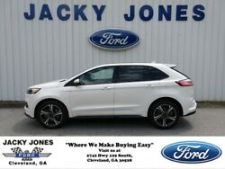 2019 Ford Edge ST 2019 Ford Edge White Platinum Metallic Tri-Coat with 13711 Miles available now!