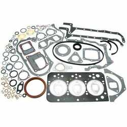 Full Gasket Set Compatible With Fiat 45-66 55-46 55-66 Ford 3830 New Holland