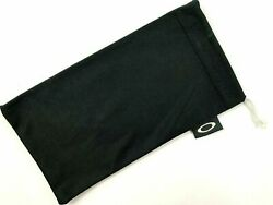 For OAKLEY Microfiber Case Soft Pouch Cleaning  Storage Bag Sunglasses - Black