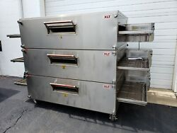 XLT MODEL 3270 TRIPLE STACK GAS PIZZA OVENS **32