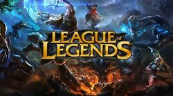 League of Legends ALL CHAMP 399 SKINS 19 RUNE PAGE