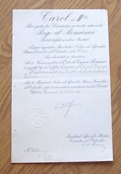 I210 Poland 1930 Alfons Kühn Minister Of Communications Romania Order Of Crown