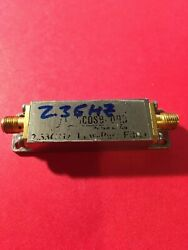 Pulse Labs Picosecond 2.3 Ghz Low Pass Filter 5915-2.3ghz