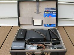 Polariod 180 Land Camera complete with all the accessories and case,