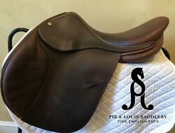 2007 Childeric Saddle, 17.5