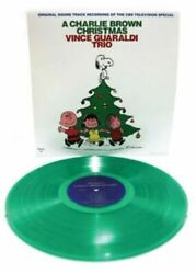 Vince Guaraldi Trio A Charlie Brown Christmas New Sealed Green Vinyl