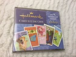 Hallmark Card Studio 2008 The 1 Greeting Card Software Deluxe Lot Of 5 Cds