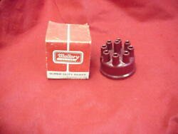 New Nos Mallory 209 Distributor Cap 8 Cylinder Chevy Ford Dodge Amc Mopar Yl