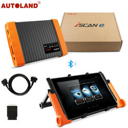 AUTOLAND E-iscan OBD2 Scanner Bluetooth Diagnostic Tool with Android OS Tablet