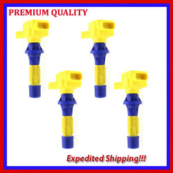 4pc High Performance Ignition Coil Jmd2873y For Mazda 6 2.5l L4 2009 2010 2011