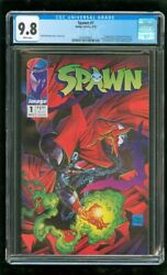 CGC 9.8 SPAWN #1 IMAGE COMICS 1992 1ST APPEARANCE OF SPAWN (AL SIMMONS) MOVIE
