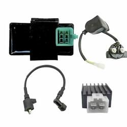 Ignition Coil 5 Pin Cdi Voltage Rectifier Relay For Atv Dune Trail Bike Pit Pro