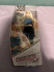 Wwe Superstars Charlotte Flair Fashion Doll Authentic Mattel New In Box
