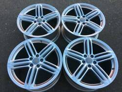 Set Of Genuine Factory Audi A4 S4 19 S-line Rims In Showroom Condition 10/10