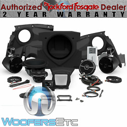 Rockford Fosgate Pmx3upgr-x317-stage4 Audio For Select Can-am Maverick X3 Models
