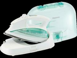 Panasonic Steam Iron Carrying Case Cordless Stainless Steel Soleplate White New