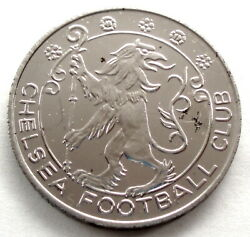 Uk Esso Chelsea Football Club Promotional Gas Token 27mm 8g Nickel Plated K6.1