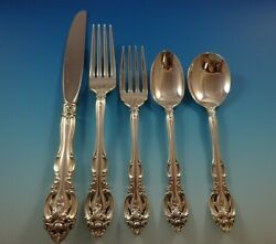 La Scala By Gorham Sterling Silver Flatware Service For 8 Set 41 Pieces