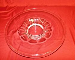 French Baccarat Cut Crystal Large Centerpiece Fruit Bowl Signed - Mint