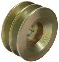 Pulley, 2-grooves, 0.63/15.9mm Id, 3.13/79.4mm Od, Fits,leece Neville/15888