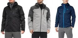 Under Armour Menand039s Prime 3 In 1 Jacket Insulated System Coat M-3xl