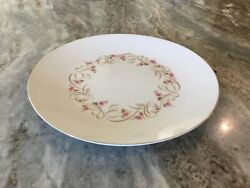 """Lisa By Harmony House China 12"""" Chop Plate/round Platter, Discontinued, Japan"""