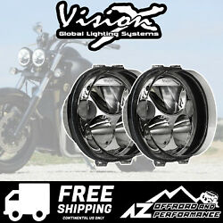 Vision X 5.75 Road Glide Motorcycle Xmc Led Headlight Kit 8420lm 84w 9895697