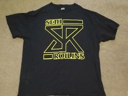 WWE Seth Rollins T Shirt Size Men#x27;s XL