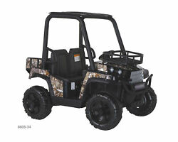 Kids Ride On Jeep 24v Utv Realtree Graphics Battery Powered Car Electric Toy