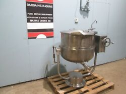 Blodgett Kpt-40ds Hd Commercial 40gal Tilting Direct Steam Jacketed Kettle