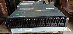 Ibm Ds3524 1746-c4a With 24 X 300 Gb Sas 15k 2.5 , Two Controllers, 2 Power Sup