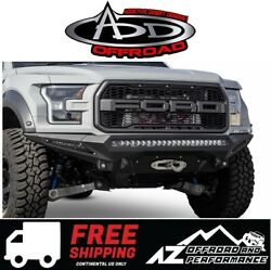 Add Stealth Fighter Front Winch Bumper For 2017-2021 Ford F150 Raptor