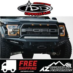 Add Honeybadger Front Winch Bumper For 2017-2021 Ford F150 Raptor